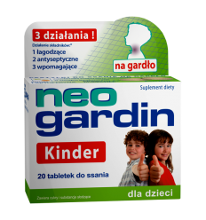 Neogardin kinder - 20 tabletek do ssania