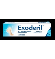 Exoderil 1% krem (10 mg / g) - 15 g
