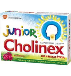 Cholinex junior - 16 pastylek do ssania