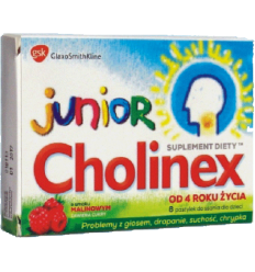 Cholinex junior - pastylek do ssania