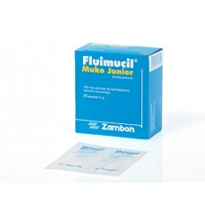 Fluimucil Muko Junior 100 mg / 1 g - 20 saszetek