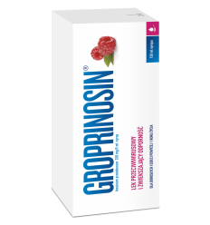 Groprinosin 50 mg/ml syrop - 150 ml