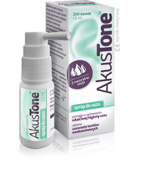 Akustone spray do uszu - 15 ml