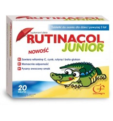Rutinacol Junior - 20 tabletek