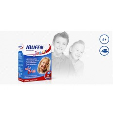 Ibufen junior 200 mg - 10 kapsułek