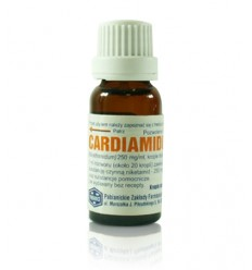 Cardiamidum krople doustne (250 mg / ml) - 15 ml