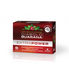 Diabolo Guarana Extra Power - 8 pastylek do ssania