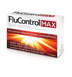 FluControl Max - 10 tabletek