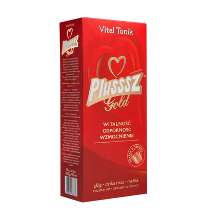 Plusssz Gold Vital Tonik - 900 ml