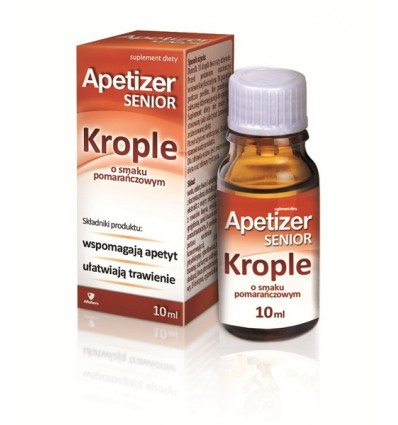 Apetizer senior krople - 10 ml