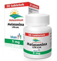 Melatonina LEK-AM - 30 tabletek