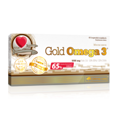 Olimp Gold Omega 3 1000mg - 60 kapsułek