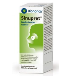 Sinupret krople - 100 ml