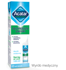 Acatar Hipertonic spray do nosa - 100 ml
