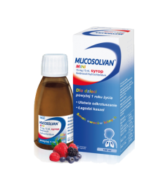 Mucosolvan Mini syrop 15 mg/5 ml - 100 ml