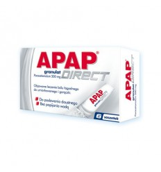 APAP Direct 500mg saszetki