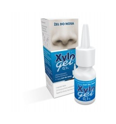 Xylogel 0,1% żel do nosa w sprayu - 10 g (butelka)