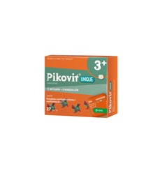 Pikovit unique - 27 tabletek do żucia