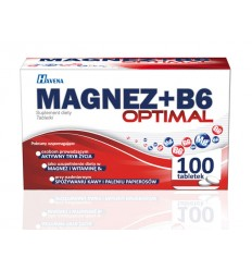 Magnez+b6 optimal - 100 tabletek